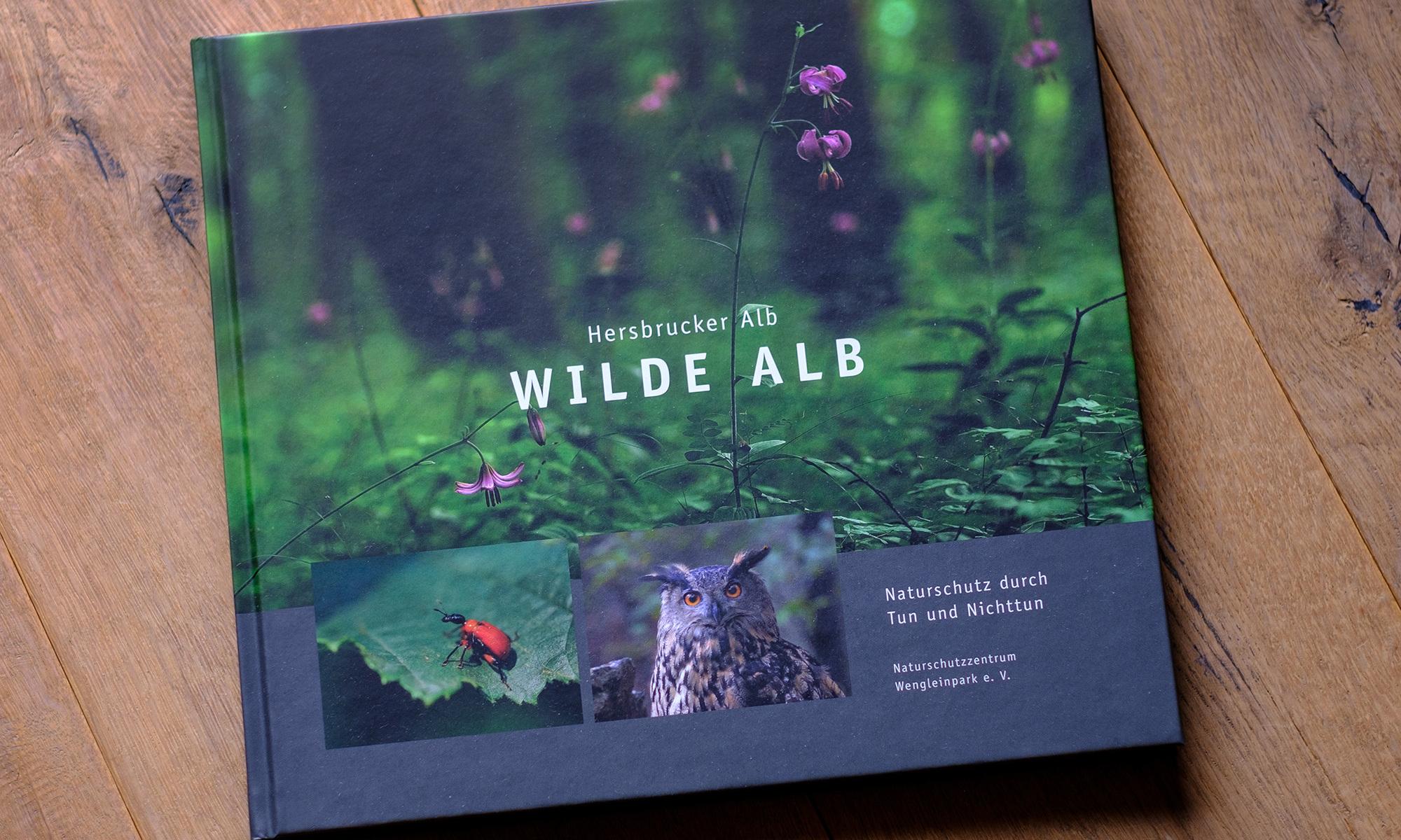 Buchtitel Hersbrucker Alb - WILDE ALB